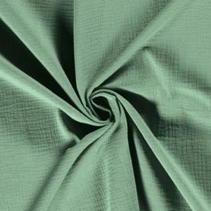 gaze unie vert tilleul